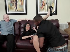 dava cuckold her husband with big black dick
