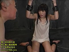 Choking and humiliating a JAV teen