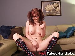 Dirty Scrabble with Veronica Ricci Jerk Off Instruction