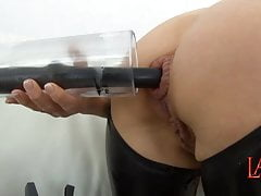 Anal pumping and ass fucking