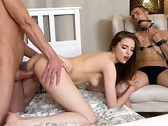 Make Him Cuckold - Mellisandra - Going to bed with front of cuffed bf