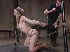 Anal possession in scenes of BDSM for Ella Nova