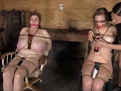 Mom & Descendant Captured By Dyke - Lesdom