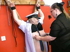 Horny Domination Between Lesbian Grannies - fruity
