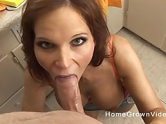Mommy blows cock all round mesmerizing POV scenes