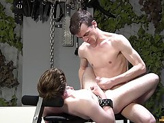 Twinks love the rough anal and the stony BDSM