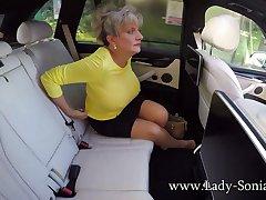 Big Milf Tits On Show In Chum around with annoy Car - LadySonia