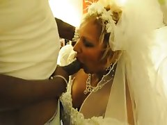 My cuckold hubby lets me have some fun with a black man on our wedding murkiness