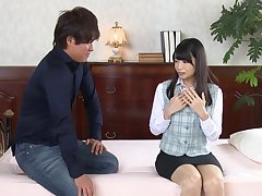 Fucking on high the phrase with small tits Japanese Rie Takimoto. HD